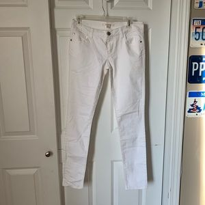 Forever 21 white jeans pants skinny size 27